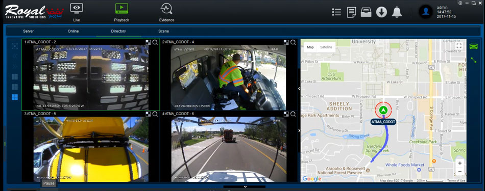 Mobile DVR & Fleet Tracking