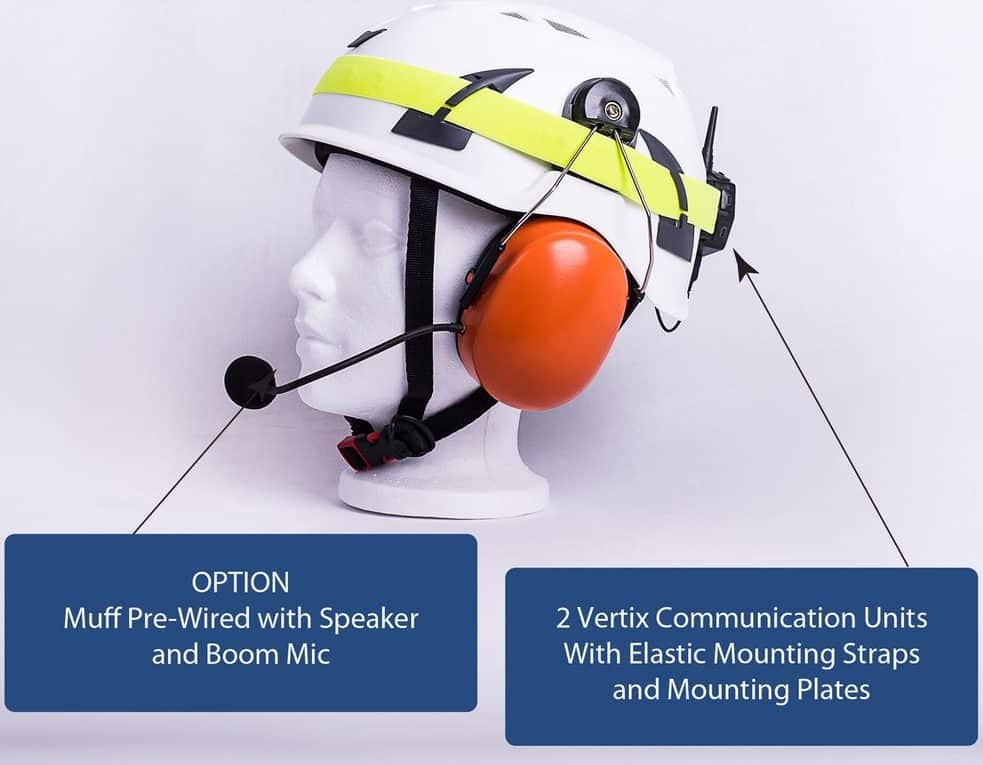 Royal Radio Headset for Effective Job Site Communication