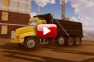 Virtual Reality Dump Truck Inspection